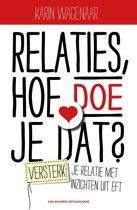 Boekomslag van 'Relaties, hoe doe je dat?'
