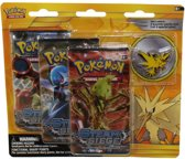 Legendary Birds Collector's Pin 3 Pack Zapdos