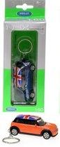 WELLY 1:60 auto sleutelhanger Mini Cooper