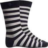 Plain Stripe, Navy & White, 39-42, MEN