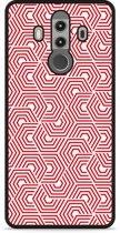 Huawei Mate 10 Pro Hardcase Hoesje Geometric