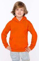 Oranje sweater/trui hoodie voor jongens - Holland feest kleding voor kinderen - Supporters/fan artikelen