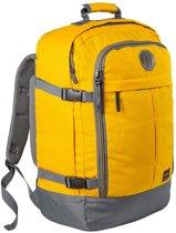 CabinMax Metz – Handbagage - Rugzak 44l– Schooltas - 55x40x20cm – Lichtgewicht - Vintage Geel (MZ V-YW)