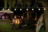 Partyverlichting - Feestverlichting Buiten - 50 LED - D2.5 cm - Mat Wit - 10m