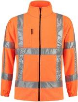 Tricorp Fleecejack RWS - Workwear - 403008 - oranje - Maat 4XL