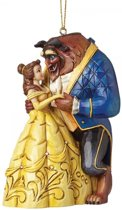 Disney Traditions beeldje - 3D Ornament - Beauty & the Beast