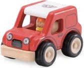 Houten speelgoedvoertuig Sportwagen