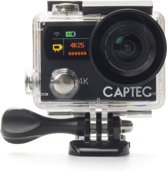 Captec Capture 5 - Action Cam - 4K Ultra HD - WiFi - Afstandsbediening