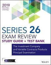 Wiley Series 26 Securities Licensing Exam Review 2019 + Test Bank