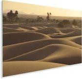 De Noord-Afrikaanse Erg Chebbi met zonlicht Plexiglas 120x80 cm - Foto print op Glas (Plexiglas wanddecoratie)