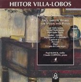 Villa-Lobos: Complete Works For Violin And Piano