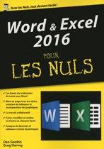 Word & Excel 2016, mégapoche pour les Nuls