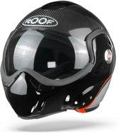 ROOF BoXXer Carbon Zilver Systeemhelm - Motorhelm - Maat XL