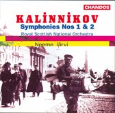 Kalinnikov: Symphonies no 1 & 2 / Neeme Jarvi, Royal Scottish NO