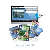 Motor Theorieboek Nederland 2019 - Motor Theorie Leren en Oefenen - Motor Theorie Boek Rijbewijs A met 5 Uur Online Examentraining + CBR Informatie en Verkeersborden