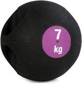 Medicijnbal Double-Grip 7 kg Krachtapparaataccessoire YOGISTAR
