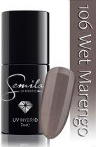 106 UV Hybrid Semilac Wet Marengo 7 ml.