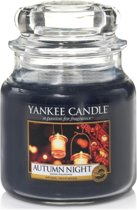 Yankee Candle Autumn Night - Medium Jar