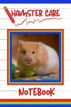 Hamster Care Notebook