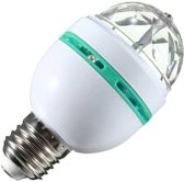 Benson Roterende Discolamp - E27 - 30 Kleuren - RGB LED