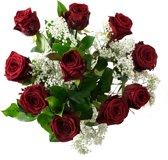 Rode rozen boeket - Large