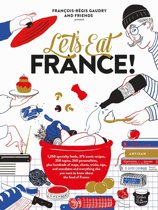 Boek cover Lets Eat France! van Francois-Régis Gaudry