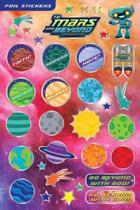 Vacation Bible School (Vbs) 2019 to Mars and Beyond Foil Stickers (Pkg of 140)