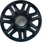 J-Tec Wieldoppen 14 inch Nascar zwart