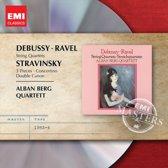 Debussy/Ravel: String Quartets/Stravinsky: 3 Pieces/...