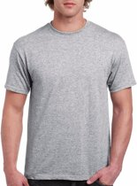 Grijs katoenen shirt voor volwassenen L (40/52)