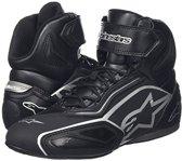 Alpinestars Faster-2 Shoes Black-Zilver