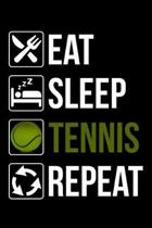 Eat Sleep Tennis Repeat