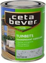 Cetabever Transparante Tuinbeits - 0,75 liter - Licht Grijs