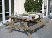 Picknicktafel 2 meter - 200 cm | Grenen Houten Picknick tafel