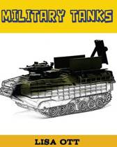 Military Tanks (Coloring Book)