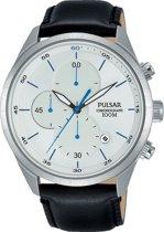 Pulsar PM3101X1 horloge heren - zwart - edelstaal
