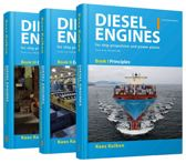 Diesel engines for ship propulsion and powerplants