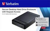 Verbatim Secure Enclosure Kit Keypad Access 3,5 USB-C