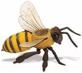 Plastic speelgoed figuur honingbij 14 cm