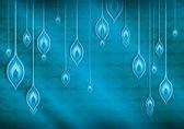 Fotobehang Abstract   Blauw   416x254