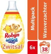Robijn Intense Zwitsal wasverzachter - 228 wasbeurten - 6 x 570 ml