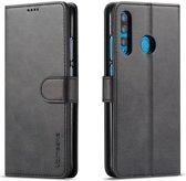 Huawei P Smart Plus (2019) Portemonnee Hoesje Zwart