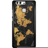 Huawei P9 hoesje - Wereldmap