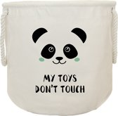 Canvas Opbergzak | My Toys, Don't Touch