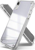 Ringke Fusion Apple iPhone XR Spiegel Hoesje Zilver
