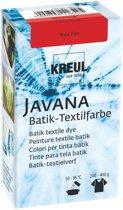 Javana Rode Batik Textile Dye - 70ml tie dye verf