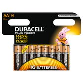 Duracell AA Plus Power Batterijen - 16