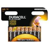 Duracell AA Plus Power Batterijen - 16