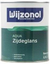 Wijzonol Aqua Zijdeglans 2.5L Wit