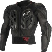 AL Youth Bionic Action Jacket-Black Red-S/M